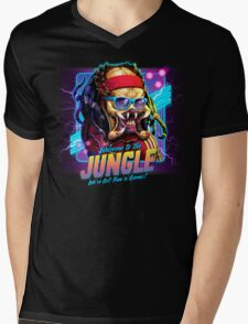 Welcome to the Jungle Mens V-Neck T-Shirt
