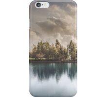 Lake of Zaros at spring iPhone Case/Skin