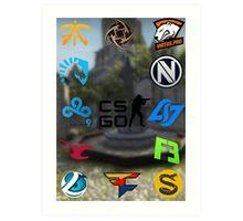 Cs:Go Teams 2 Art Print