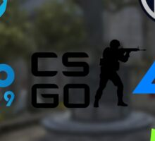 Cs:Go Teams 2 Sticker