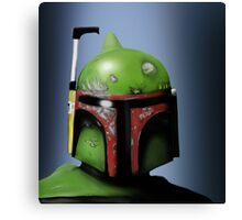 Sci Fi Bounty Hunter Canvas Print
