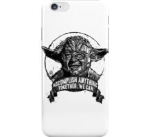 The FORCE IS STRONG in this one.  iPhone Case/Skin
