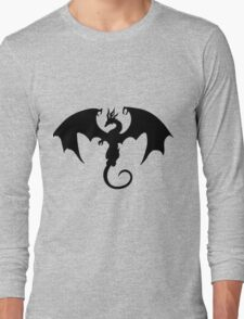 black dragon Long Sleeve T-Shirt