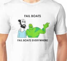 Fail Boats Unisex T-Shirt