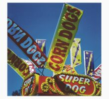 Corndogs - Medium Format Film Photograph One Piece - Short Sleeve