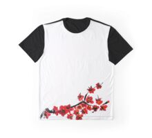 Pink flowers of cherry Graphic T-Shirt