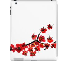 Pink flowers of cherry iPad Case/Skin