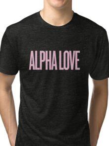 Alpha Love (ADPi) Beyonce Inspired  Tri-blend T-Shirt