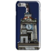 Statue on a Church Tower iPhone Case/Skin