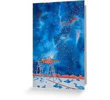 Picnic Amongst the Stars Greeting Card