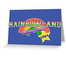 Rainbowland Color Guard Greeting Card
