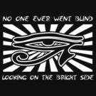 No One Ever Went Blind Looking on the Bright Side by Samuel Sheats