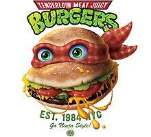 Tenderloin Meat Juicy Burgers Photographic Print