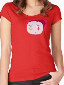 Hisoka's Face Cartoon Style Women's Fitted Scoop T-Shirt