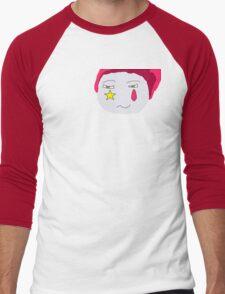 Hisoka's Face Cartoon Style Men's Baseball ¾ T-Shirt