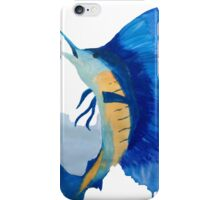 Splashing Marlin iPhone Case/Skin