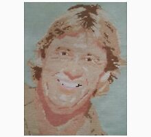Steve Irwin Crocodile Hunter Cross Stitch Unisex T-Shirt