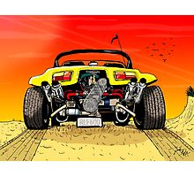 A classic Beach Buggy Photographic Print