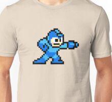 8-bit Megaman Unisex T-Shirt