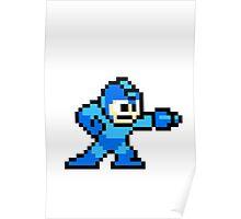 8-bit Megaman Poster