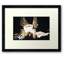 Luna Park 1980s Framed Print
