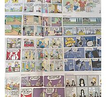 Comics Photographic Print