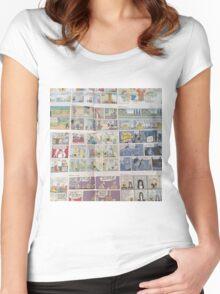 Comics Women's Fitted Scoop T-Shirt
