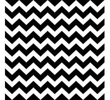Seamless artist pattern texture: Black and White Photographic Print
