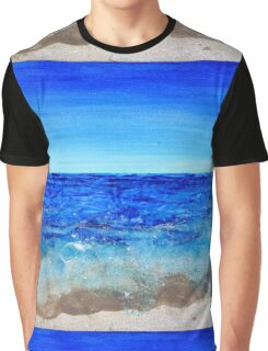 Patterned Waves Graphic T-Shirt