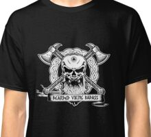 Bearded Viking Badass Classic T-Shirt