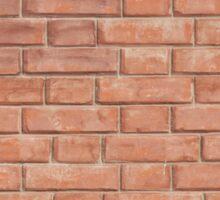 fragment of a brick wall Sticker