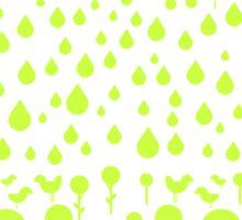 Summer Green Sticker
