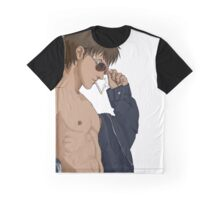 Shirtless Jet - Bigger Version Graphic T-Shirt