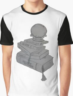 Buffy Design Books Spells Witches Graphic T-Shirt