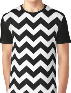 Seamless artist pattern texture: Black and White Graphic T-Shirt