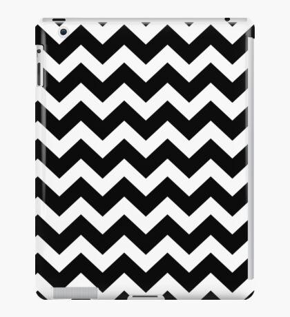 Seamless artist pattern texture: Black and White iPad Case/Skin