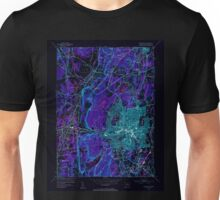 USGS TOPO Map Connecticut CT New Britain 330943 1953 31680 Inverted Unisex T-Shirt