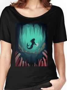 Mermaid In the Ocean Under Water Women's Relaxed Fit T-Shirt