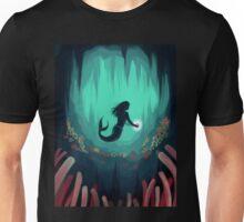 Mermaid In the Ocean Under Water Unisex T-Shirt