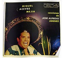 Mexican Mariachi Lp cover Poster