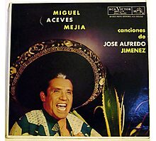 Mexican Mariachi Lp cover Photographic Print