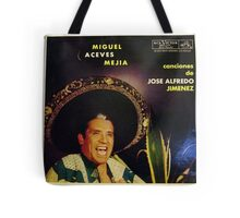 Mexican Mariachi Lp cover Tote Bag