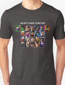 Ultimate Mortal Kombat 3 Character Select Unisex T-Shirt