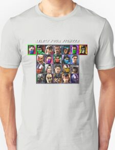 Ultimate Mortal Kombat 3 Character Select Unisex T-Shirt