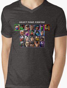 Ultimate Mortal Kombat 3 Character Select Mens V-Neck T-Shirt