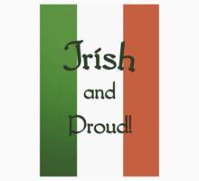 Irish and Proud - phone case Kids Tee
