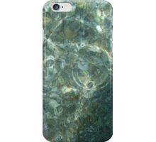 bottom of the river through the water iPhone Case/Skin