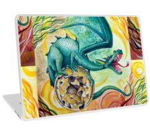 Dragon Guarding Pyrite Laptop Skin