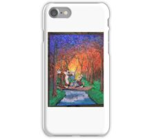Spring Frolic, Calvin and Hobbes  iPhone Case/Skin