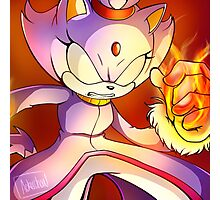 Blaze the Cat - Blazing Princess Photographic Print